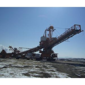 Large Open Pit Mine Excavating Equipment